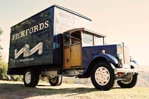 Old pickfords truck