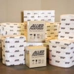 Different Allied Pickfords sized boxes and wrapped objects.