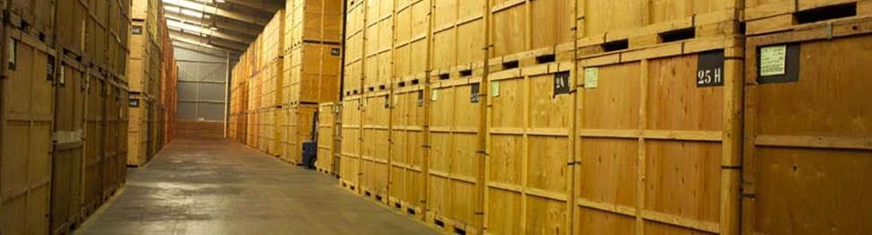 Furniture storage facilities provided by Pickfords Removals