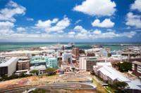 cityscape of Port Elizabeth, South Africa