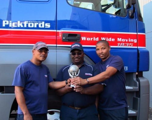 Pickfords Eastern Cape Team