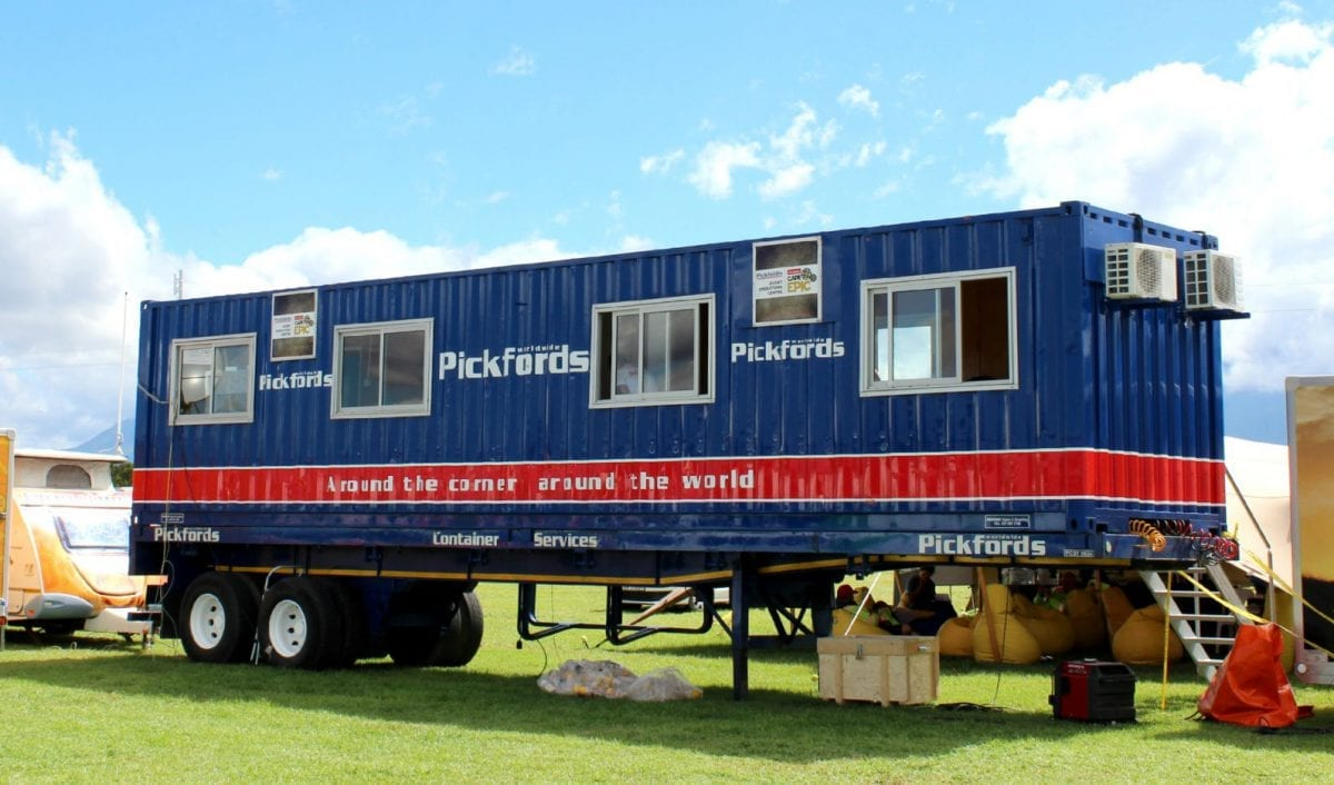 Pickfords container